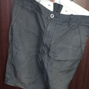 Levi's grey shorts